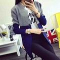 Cardigans New Fashion Long Cardigan Sleeve Wool Sweaters Women Casual Patchwork Sweater Autumn Winter Outwear Coat