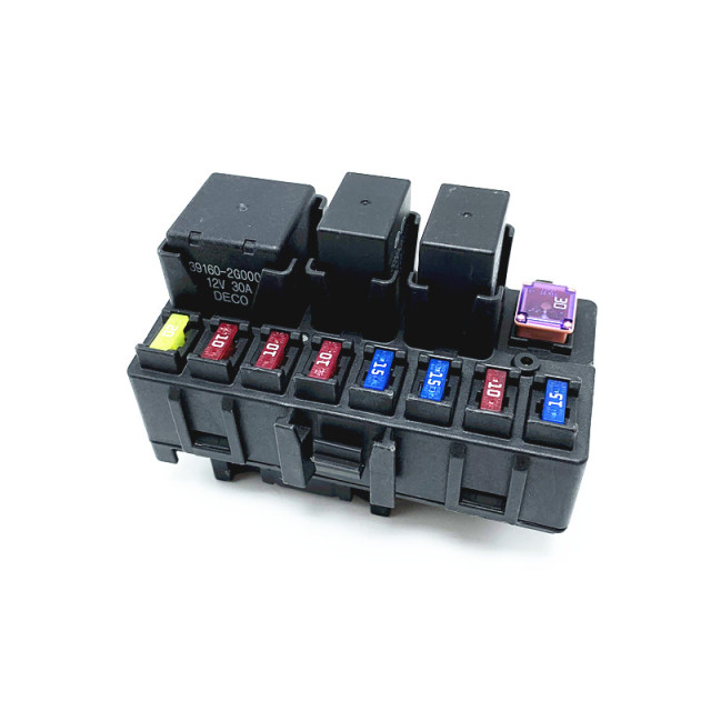 for kia sorento forte koup small engine fuse box engine modular system 12v  30a deco kia box assembly-eng module power relay
