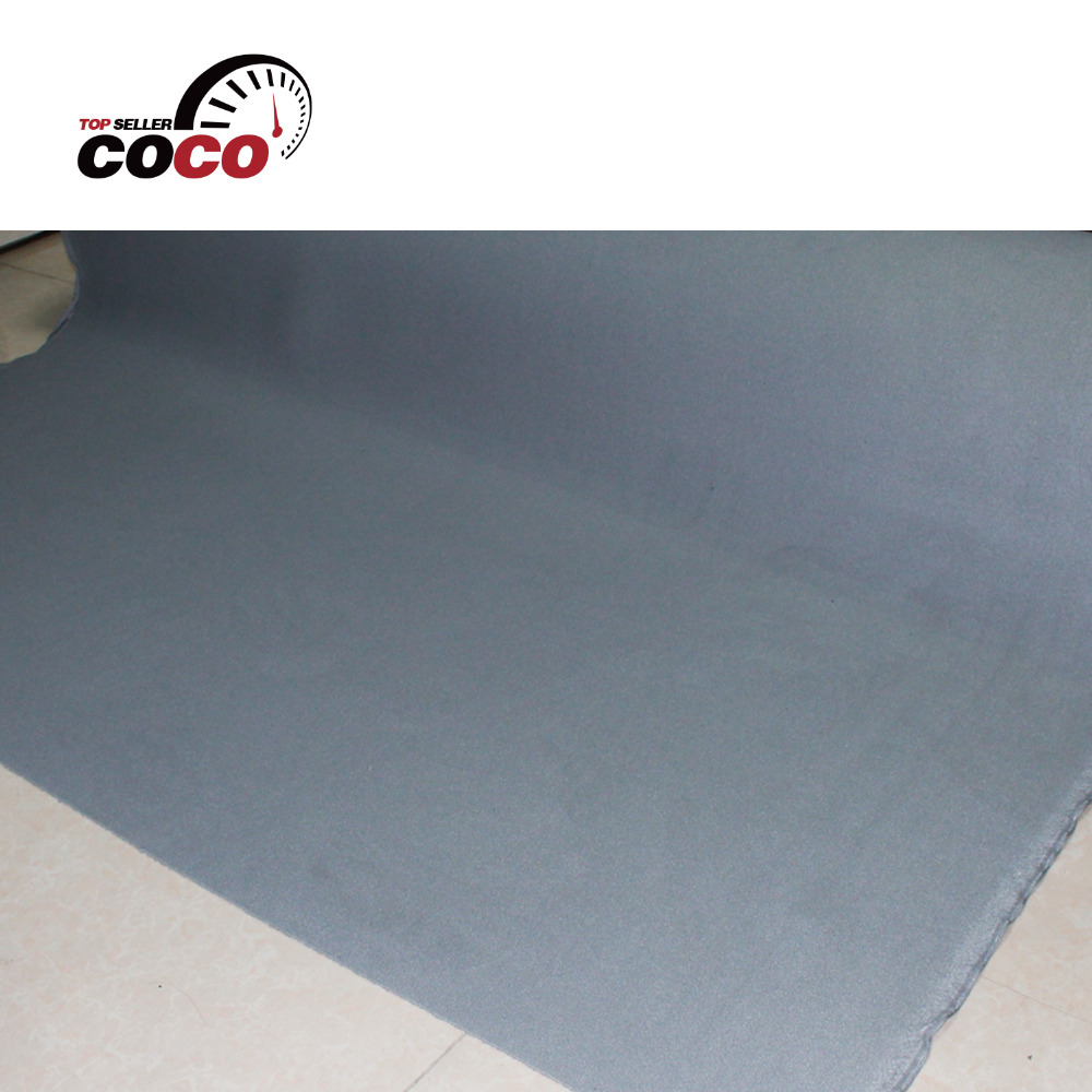 196x60 500cmx150cm Free Shipping foam backing roof lining fabric Material auto pro ceiling gray UPHOLSTERY cover headliner