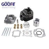 GOOFIT Cylinder Kit With 10mm Rings 39mm Piston For Yamaha Jog Zuma Vino 2 Stroke 50cc