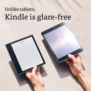 Image 4 - Новинка Kindle Oasis 32 ГБ, устройство для чтения электронных сообщений, дисплей с высоким разрешением 7 дюймов (300 ppi), водонепроницаемый, встроенный звук, Wi Fi