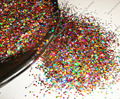 50gram x 1MM 040 Mixed Laser Holographic Color Hexagon Glitter Paillette Spangle Shape for DIY Nail Art Decoration&Glitter Craft