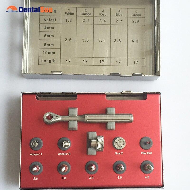 Kit d'extension osseuse d'instruments d'implant dentaire de SBE-01