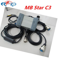 2016 top sell mb star c3 full set with all cables mb c3 star diagnosis tool high quality mb star c3 multiplexer without software