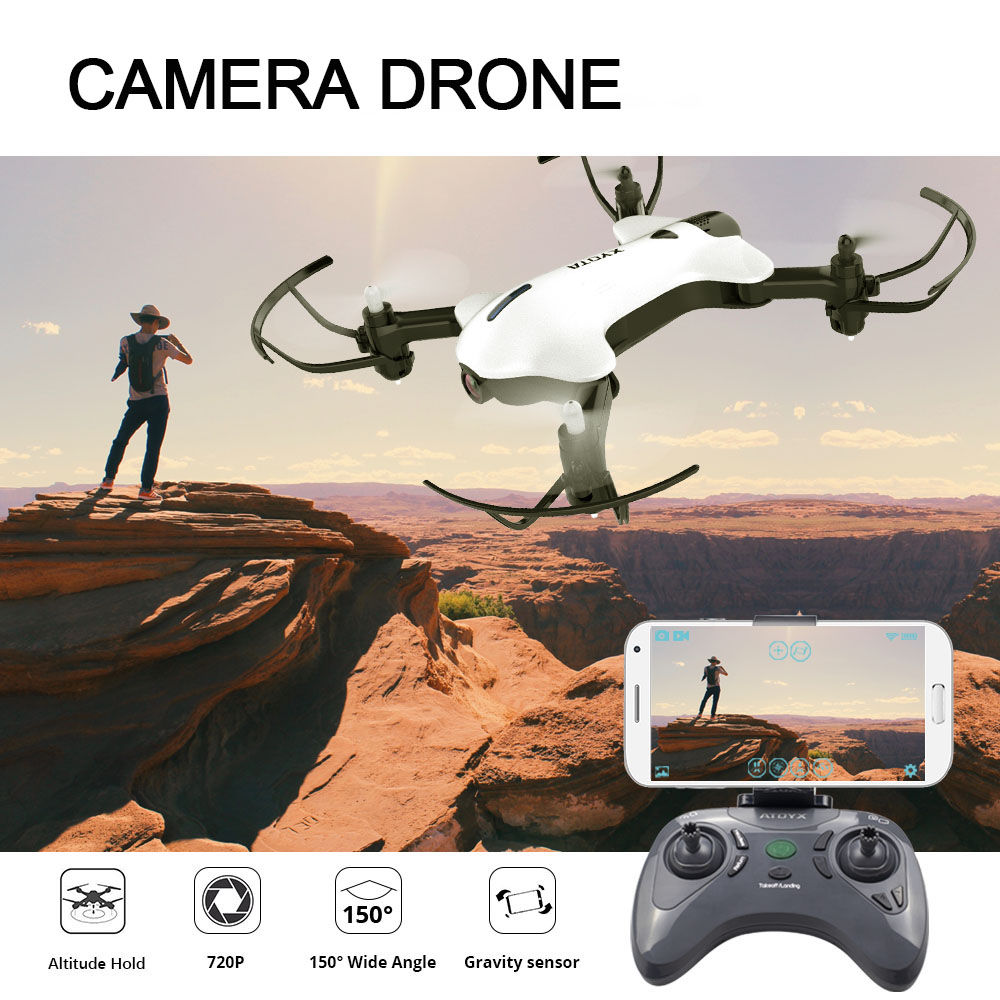 ATOYX Camera Drone HD Camera 4k Mini Drone With Wide Angle HD RC Quadcopter FVP WIFI High 4CH Headless Altitude Hold Mode адаптер ф58 flama 0 45x pro hd wide angle с переходным кольцом 52 58