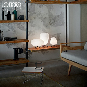 Image 4 - LODOOO E27 Modern Table Lamp For Living Room Contemporary Desk Lamp Bedside Lamp LED Decorative Glass  table lamp