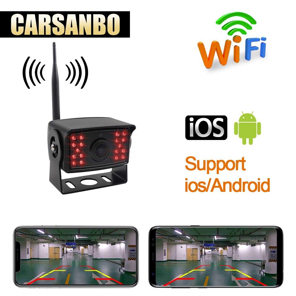 Wireless WIFI reversing rear view camera truck bus Trailer Truck RV Camper shockproof waterproof car reversing