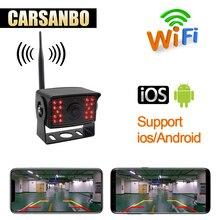 WIFI senza fili di retromarcia macchina fotografica di retrovisione camion bus Camion Rimorchio RV Camper antiurto impermeabile inversione di auto sistema di immagine