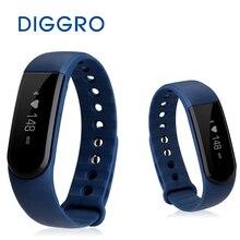 Diggro ID101 сердечного ритма Смарт часы для iOS и Andriod IP67 Спорт Фитнес трекер вызов/SMS напоминание сна Мониторы браслет Группа