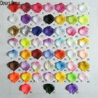 3000pcs Fashion Atificial Polyester Flowers for Romantic Wedding Decorations Silk Rose Petals confetti
