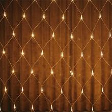 YIYANG 1,5 м 96 Светодиодный s светодиодный чистый свет строка светильник фестиваль рождественские украшения год свадебной церемонии Водонепроницаемый 8 режимов 220V светильник s