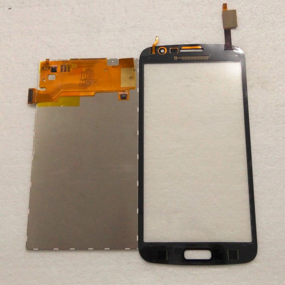 imágenes para Negro Pantalla Táctil Sensor de Cristal Digitalizador + Panel de la Pantalla LCD Monitor de Pantalla Para Samsung Galaxy Gran 2 Duos G7102 G7105