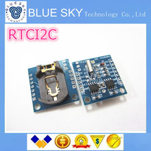 БЕСПЛАТНАЯ ДОСТАВКА Крошечные I2C модули RTC 24C32 памяти DS1307 часы (с нашими батареей)