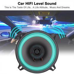 1 個 5 インチ 12 v 100 ワットカー hifi 同軸スピーカー車両ドア自動オーディオ音楽ステレオフルレンジ周波数スピーカー車のため