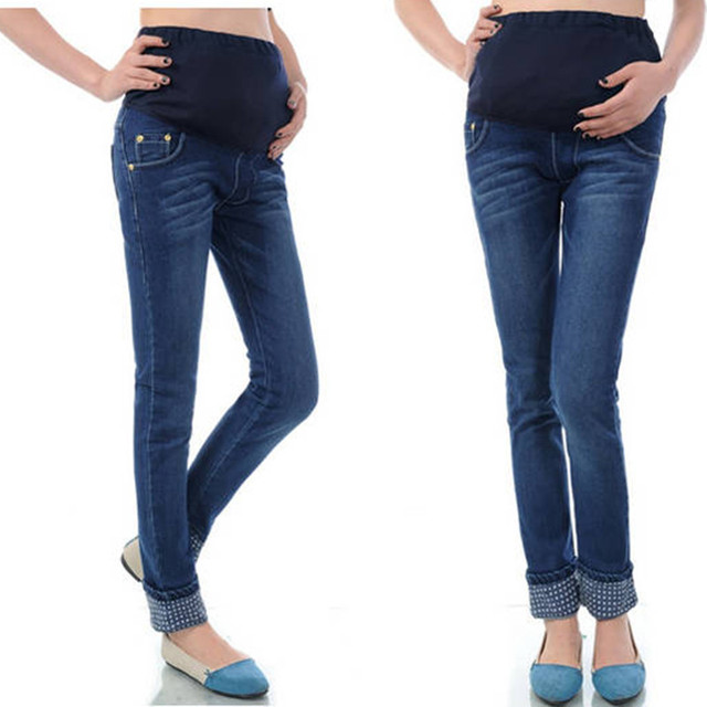 Aliexpress.com : Buy 2016 new fashion maternity jeans elastic ...