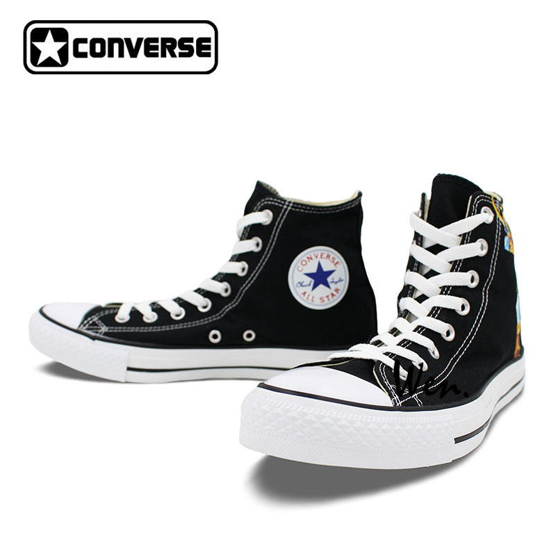 8c2925e67bd4 ... shop boys girls converse chuck taylor black sneakers the legend of  zelda design hand painted high spain converse all star ...