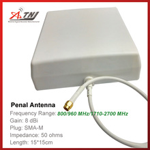 New Arrival !!Top Quality+ High Gain 7dbi , ATNJ 800-2500mhz Outdoor Penal Antenna for 2G 3G 4G Signal Booster