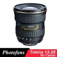 Tokina 12-28mm f/4.0 AT-X Pro 12 28 광각 렌즈 캐논 600D 1300D 700D 750D 760D 800D 60D 70D 80D 7D