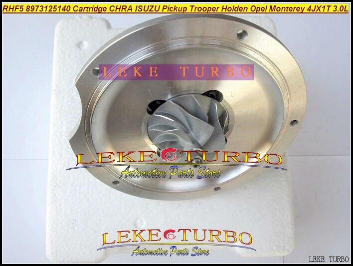 Free Ship Turbo Cartridge CHRA RHF5 8971371098 hole distance=80mm Turbocharger For ISUZU Jackaroo For OPEL Monterey 4JX1T 3.0L free ship turbo cartridge chra for jackaroo for isuzu d max trooper monterey 4jx1t 3 0l rhf5 8973125140 8971371093 turbocharger