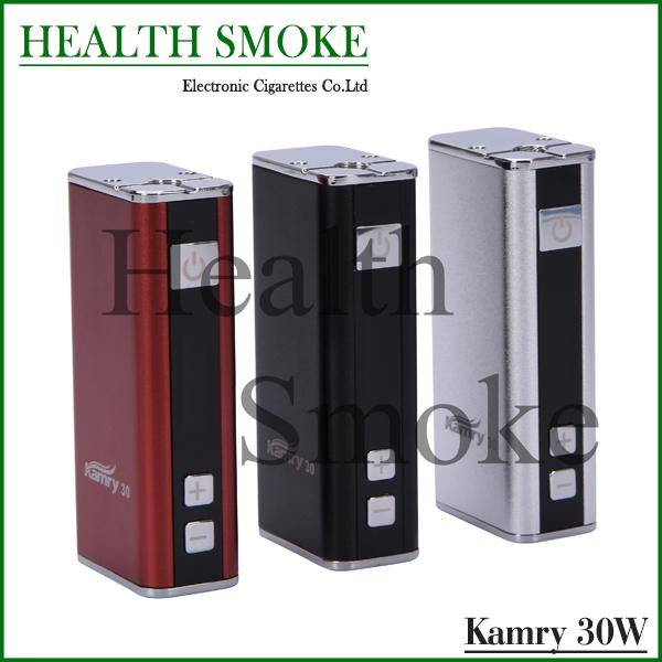 2015 Kamry originales 30 batería Mod Kamry 30 W caja Mod VV VW E cigarette encajen para batería 18650 envío gratis