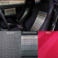 100CM X160CM JDM BRIDE Racing Car Seats Auto Fabric Black Red Blue BRIDE Car Seats