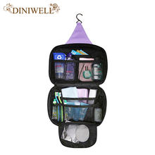 5bab7c1c8813 DINIWELL Luxury Wash Bag Toiletry Travel MakeUp Mens Ladies Hanging Folding  Cosmetics Organizer Storage Container For
