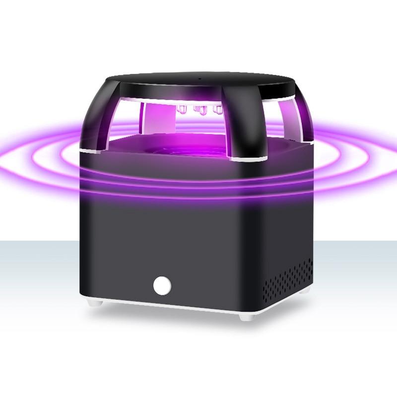 Iguardor Household Mute USB Mosquito Killer Photocatalyst LED Lamp Bug Zapper Night Light Safty Repellent Killer Insecticidal