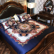 Bohemia style Luxury Palace Bedding set King Queen size Egyptian Cotton Bed set 4Pcs Boho Duvet cover Bed sheet Bed room set