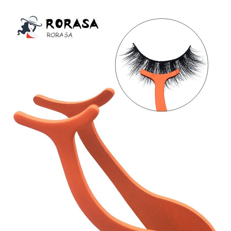 1pc Eyelash Tweezers Professional Beauty Makeup Tweezers Colorful Eye Lash Make Up Accessories Tools Kit Maquillaje Profesional