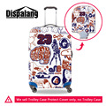 3D Creative Graffiti Print Travel Luggage Cover Elastic Waterproof Protective Cover for 18-30 Suitcase Covers Travel Accessories