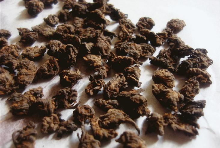1995 year Chinese yunnan old Premium puerh tea puer 500g Pu er tea Pu er natural