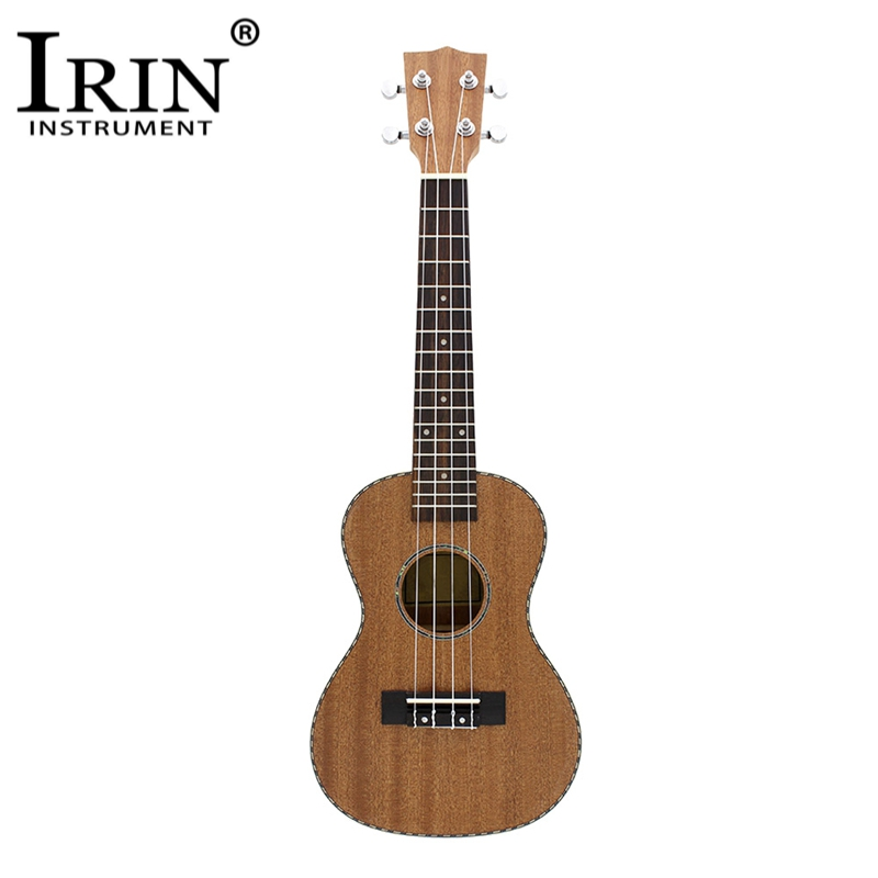 IRIN 23 Ukelele Lace Edge Sapele Wood Body Rosewood Fretboard 4 Strings Acoustic Guitar Stringed Musical Instrument
