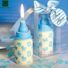 Высококачественные свечки в форме бутылочки, креативные милые подсвечники на день рождения, подсвечники, украшения SKK005