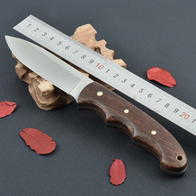 Survival Knife HERBERTZ Fixed 3CR13 Blade Knife With Nylon Sheath Hunting Tactical Camping Knives Outdoor Tools KN316