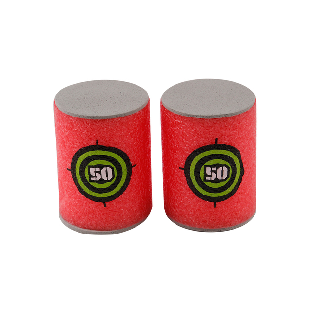 6PCS Foam Drink Bottle Bullet Training Supplies Toy Targets Shot Dart Nerf Set for N-strike Fixed Elite Games Soft  Annex Toys 2