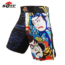 SOTF mma muay thai boxing trunks mma shorts thai boxing shorts tiger muay thai fight wear yokkao fight shorts bermuda  mma short