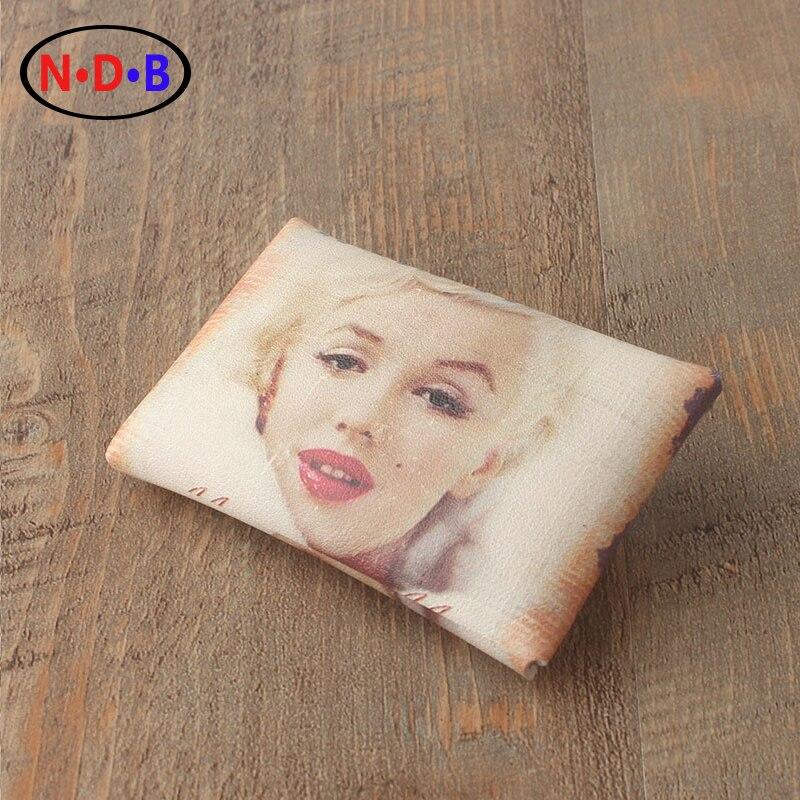 (Coin Purses) American star Marilyn Monro Marilyn Monroe Wallet Coin Bag hand bag trend LQB1008