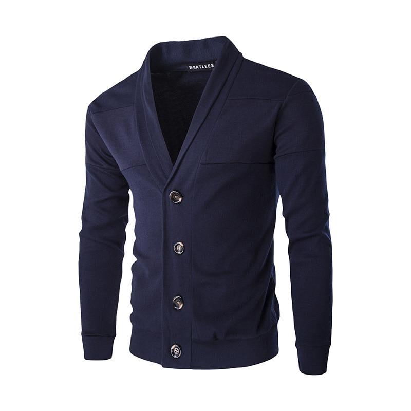 Neue stil herren business casual hemd einfarbig trim einreihige tasten