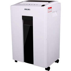 Image 2 - High Security and Shredding ability Silent design Cut 2*6 mm Paper, CD, and Credit Card shredder Office supplies deli 9954