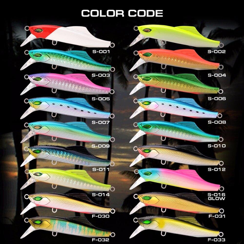 Serie de lujo Takumi 75-20 Minnow Lure Japón con bonita caja marca - Pescando - foto 6
