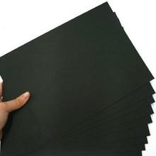 Высокое качество, 50 шт А3/А4, черная картонная бумага, ручная картонная бумага, альбом, джемы, картонная бумага