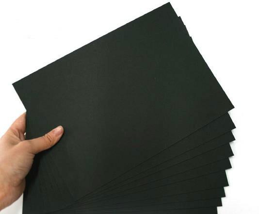 alta qualidade 50 pcs a3 a4 papel manual de papelao de papel cartao preto album atolamentos
