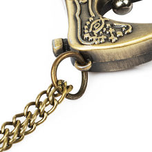 Retro Antique Bronze Alloy Sewing Machine Design Pocket Watch With Necklace Chain Best Gift цена