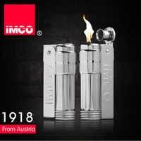 Genuine IMCO Lighter Stainless Steel Petrol Lighter Original Oil Gasoline Cigarette Lighter Cigar Fire Smoker Creative Gift