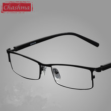 Marke Design Top Qualität Lesen Gläser Männer Metall Mode Optik Lesebrille