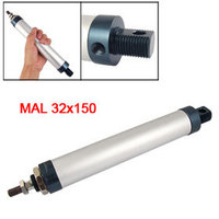 MAL Series 150mm Stroke 32mm Bore Aluminum Alloy Mini Air Cylinder