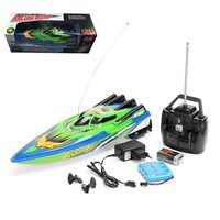 Radio Remote Control High Speed Boat Twin Motor RC Racing Outdoor Red/Green Toy Ships Remote Control Rc Barco For Children