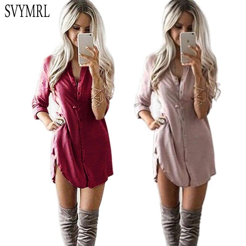 Женские блузки и Рубашки Svymrl 2017