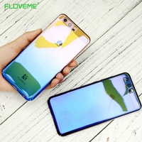 FLOVEME Huawei P9 Lite Case Huawei P10 Cases Luxury Blue Ray Gradient Ultra Slim Huawei P10 Lite Case Huawei Mate 9 Coque Cover