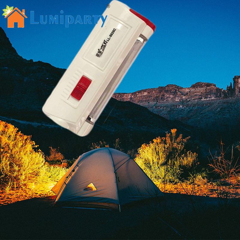 LumiParty Solar Flashlight Multifunction Flashlight USB Charging Mini Portable Energy Torch Solar Outdoor Emergency Lighting